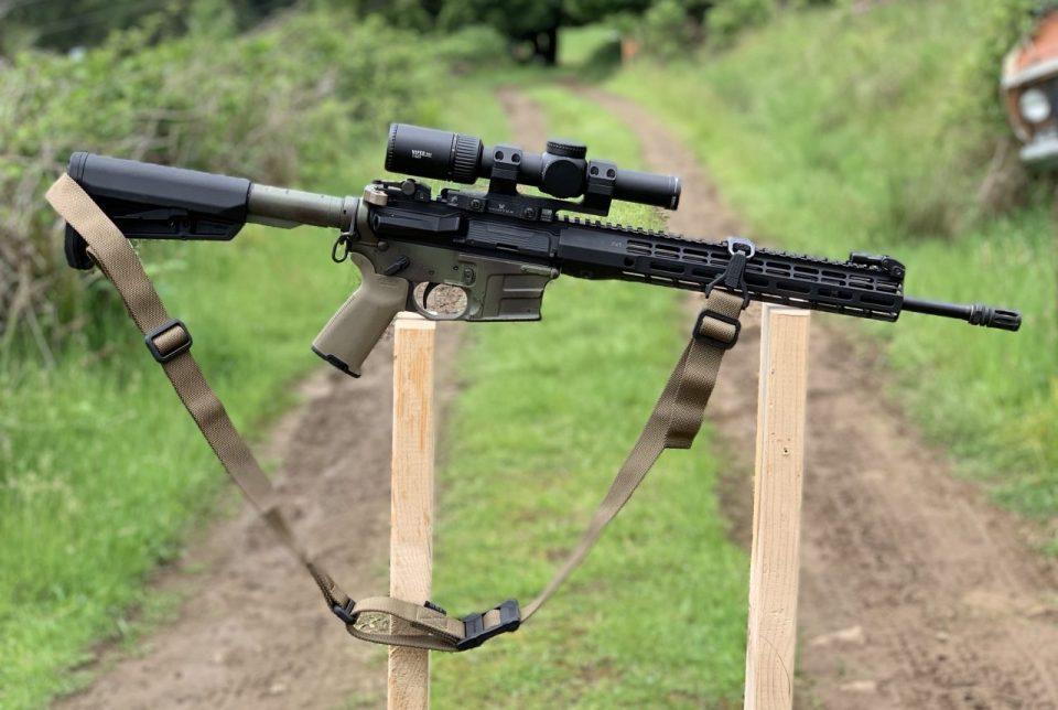 My Minuteman rifle missing a light
