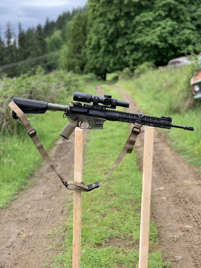 My Minuteman Rifle