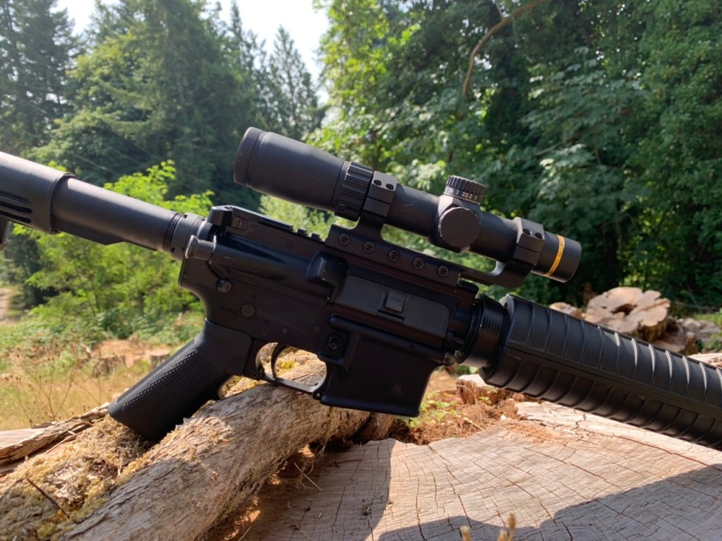 The leupold 1.5-4 vxr patrol takes is a very compact package packed with features