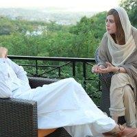 Zartaj Gul & Imran Khan at Bani Gala