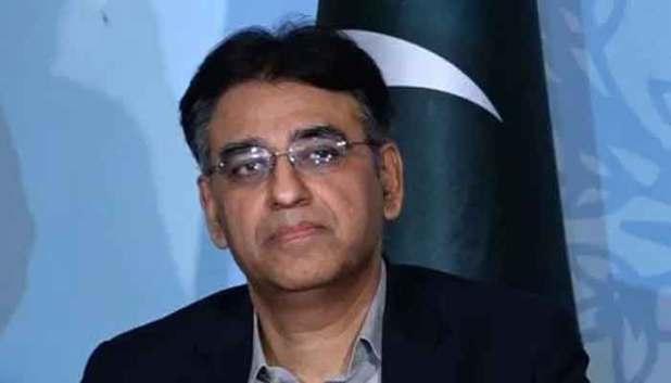 Federal Minister for Planning Asad Umar. File photo