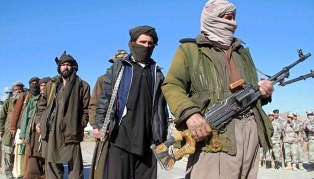 اس تصویر میں افغان طالبان جنگجوؤں - اے ایف پی / فائل کو دکھایا گیا ہے