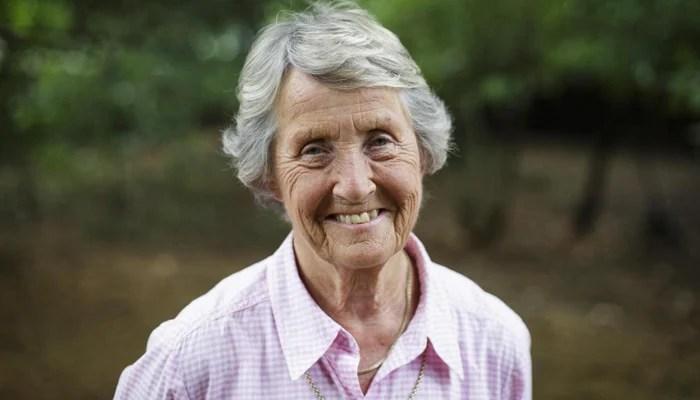 England womens cricket great Rachael Heyhoe Flint. —The Times/File