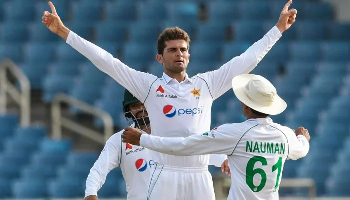 Shaheen and Abbas lead Pakistan to get in control of West Indies Test