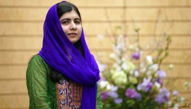 نوبل انعام یافتہ ملالہ یوسف زئی۔  اے ایف پی/فائل