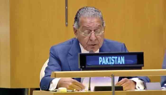 Pakistan's Permanent Representative to the United Nations Munir Akram. Photo: file