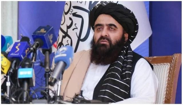 افغانستان کے قائم مقام وزیر خارجہ عامر خان متقی  فائل فوٹو۔