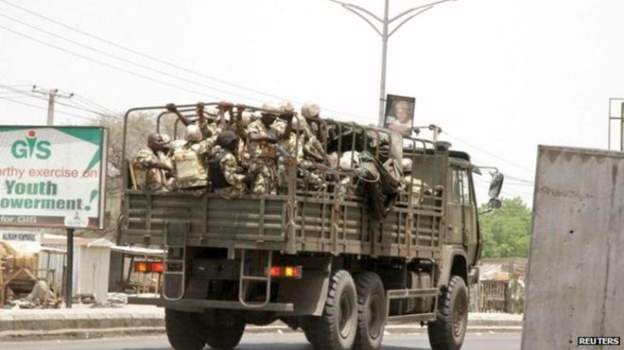 'To hell with democracy, useless democracy' Soldiers say as they descend on COVID-19 enforcement team in Borno