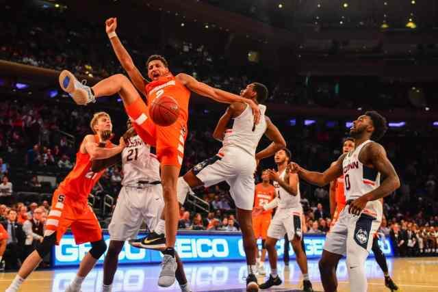Syracuse vs. Connecticut on Dec. 5, 2017 at Madison Square Garden, New York City