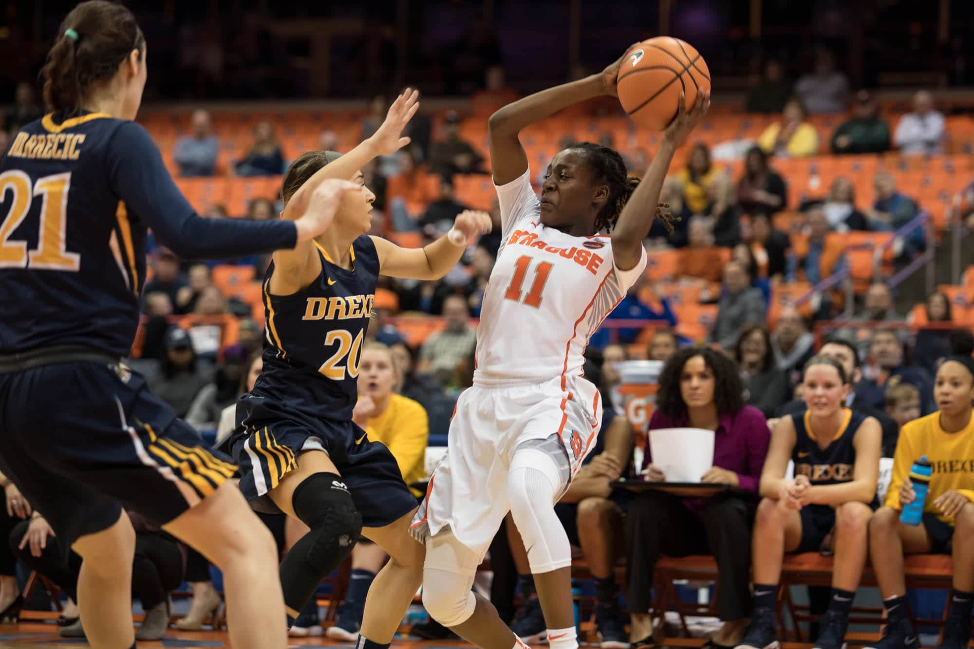 Women's basketball versus Drexel