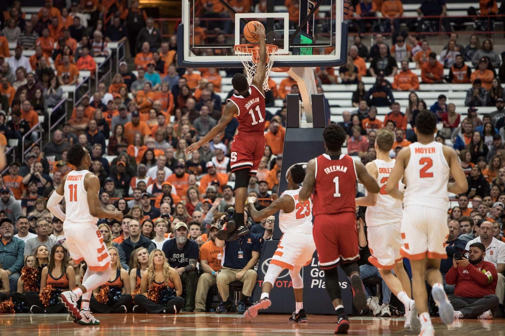 Men's basketball versus NC State