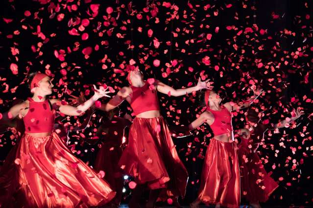 SU DanceWorks spring showcase: Dancers throw rose petals