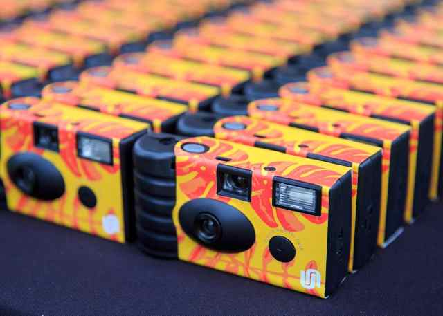 Disposable cameras at Mayfest