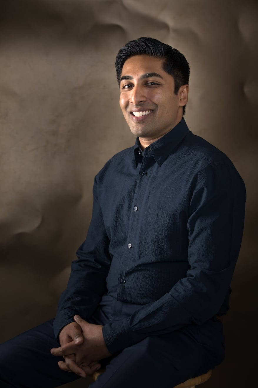 Anish Shroff at Syracuse University on April 13, 2018