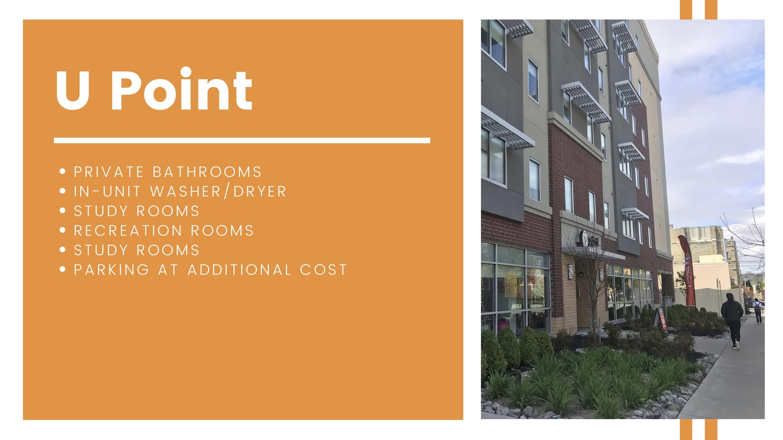 U Point amenities breakdown
