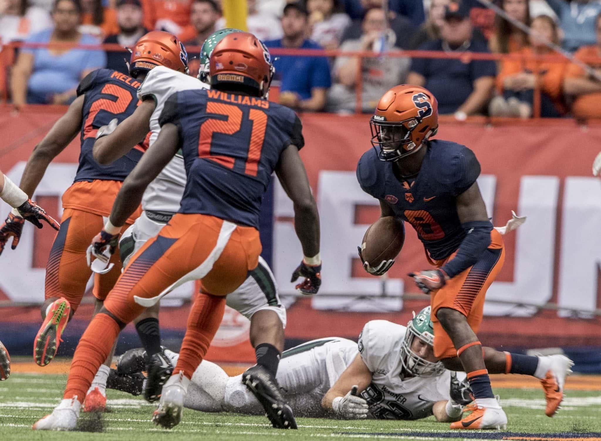 Syracuse Football vs Wagner