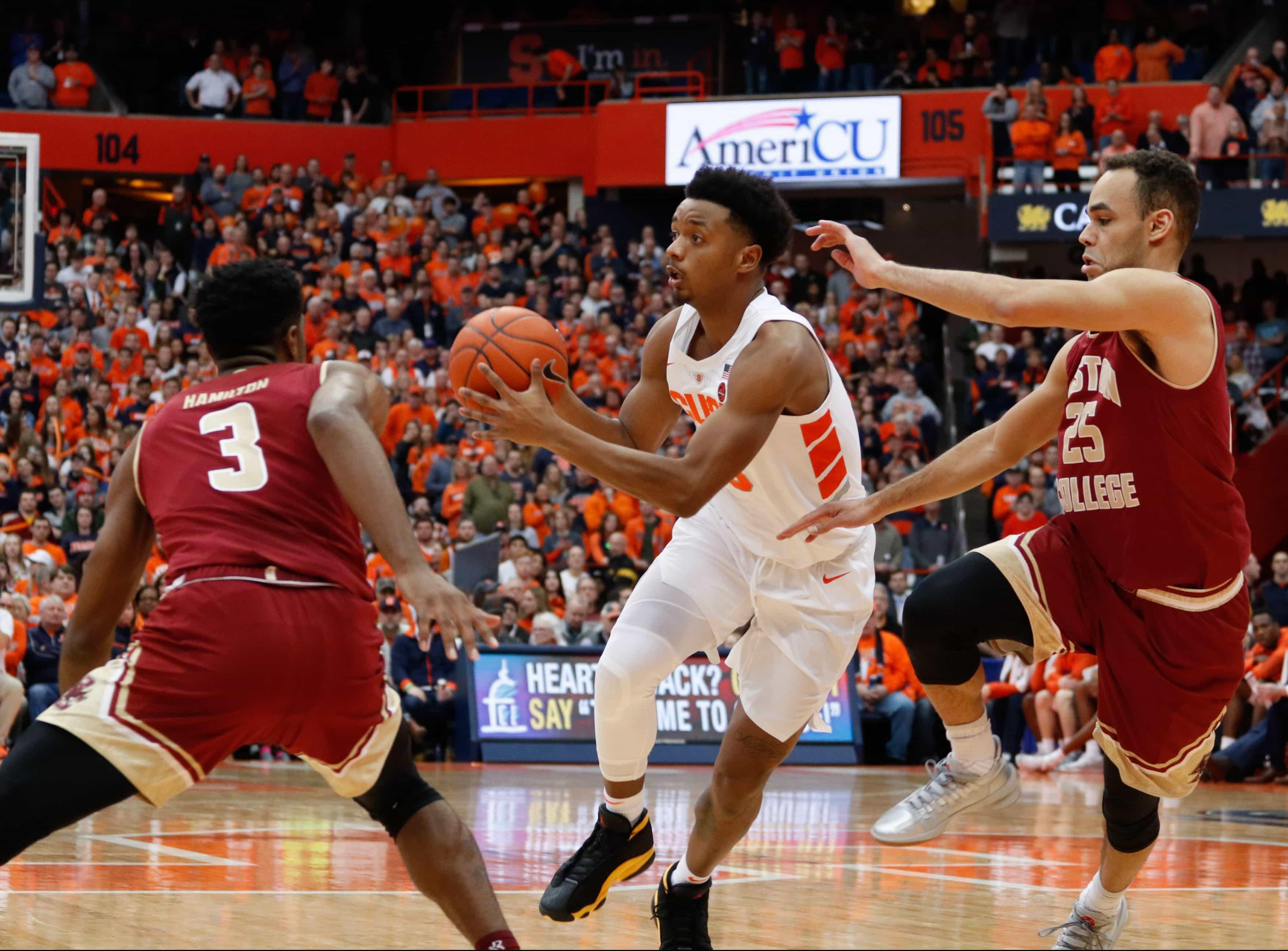 Syracuse vs Boston College Basketball
