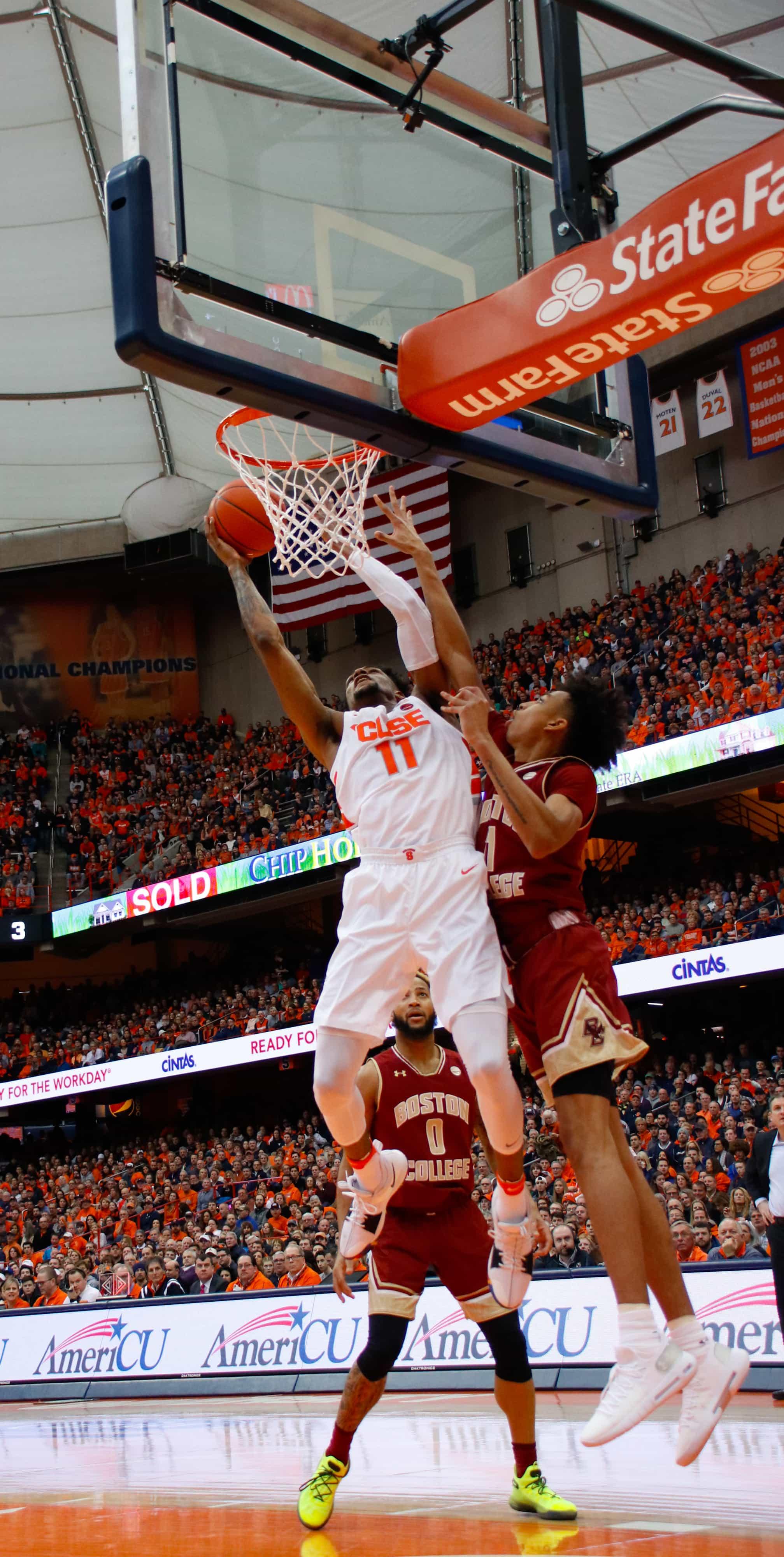 Syracuse Basketball vs Boston College