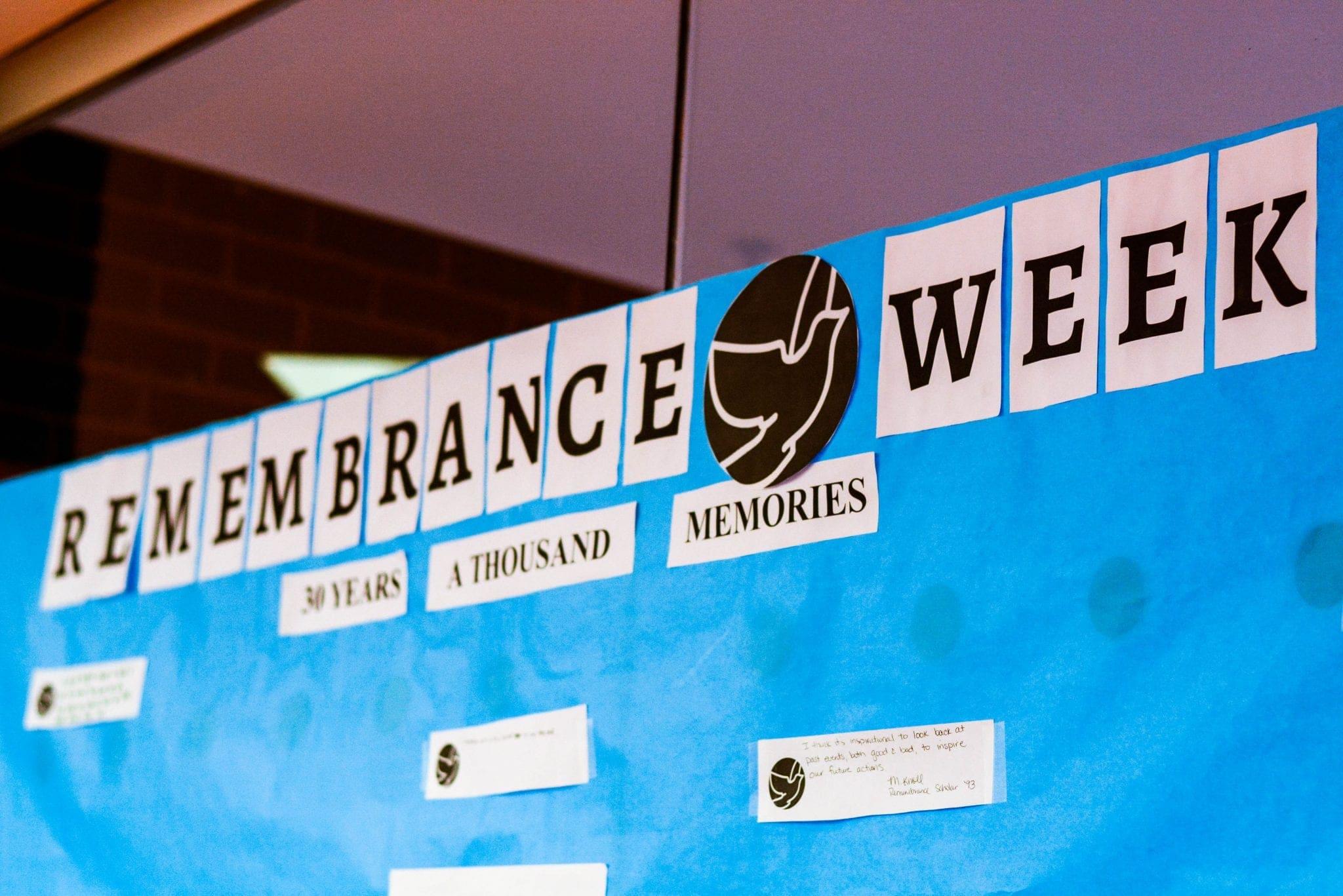 Remembrance Week Title