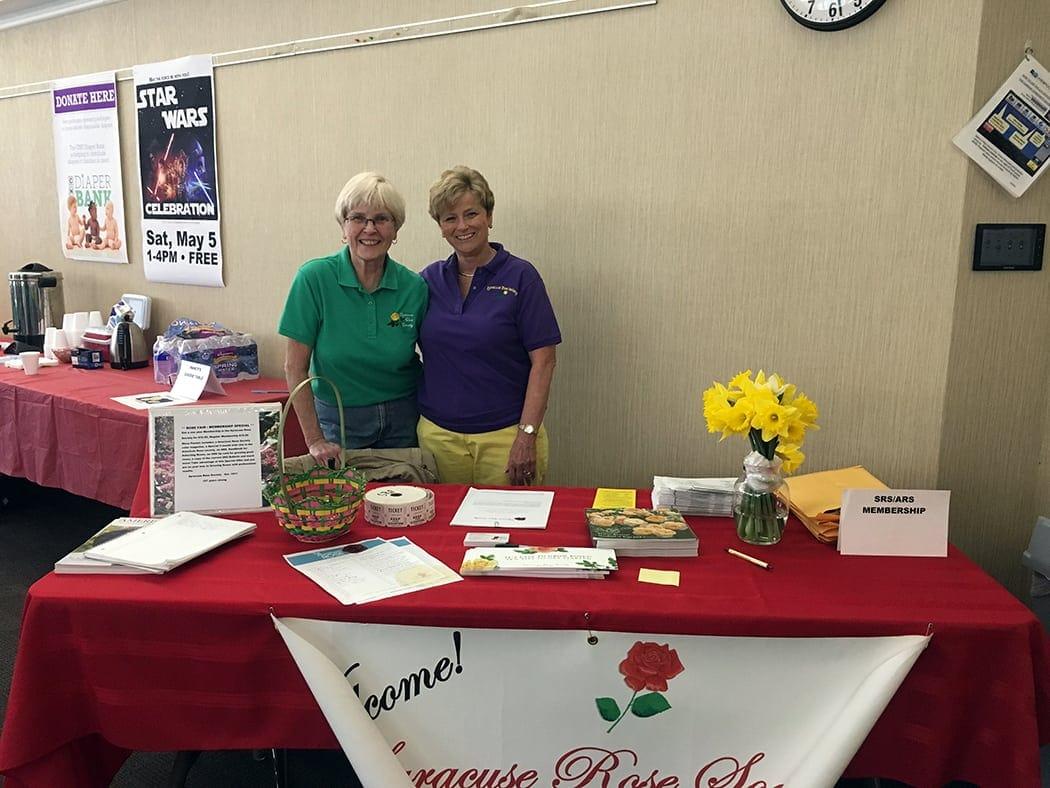 5th Annual Syracuse Rose Society fair on April 28, 2018
