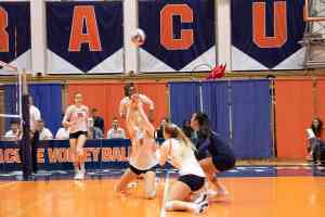 Syracuse vs. Boston College volleyball on Oct. 31, 2018