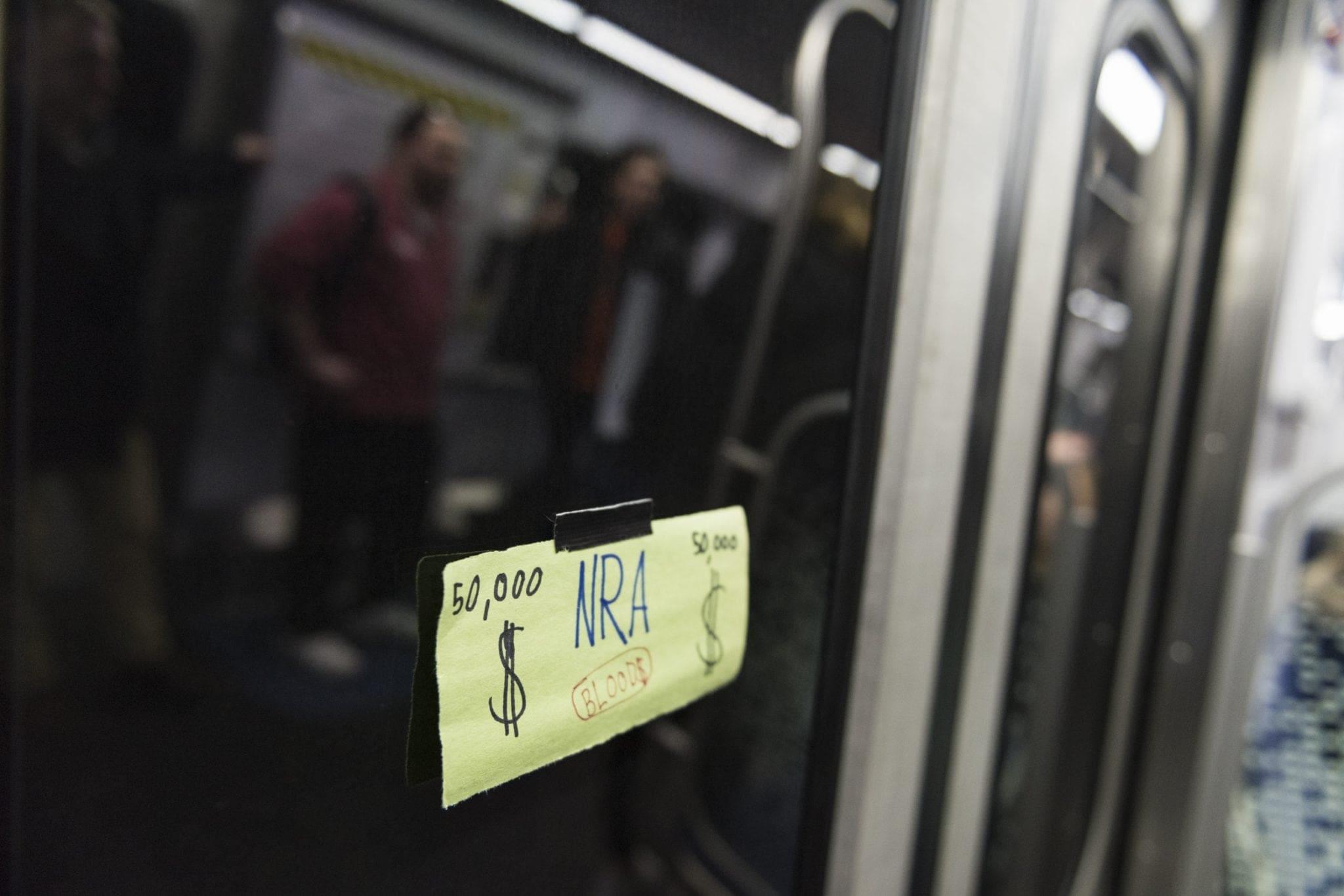 """An """"NRA Blood Money"""" bill"""
