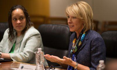 California sues Betsy DeVos over rule steering coronavirus aid to private schools