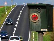 German speed  camera