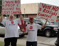 Houston anti-camera protest