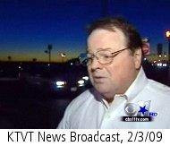 KTVT newscast