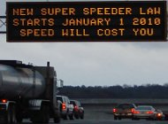 Super speeder billboard