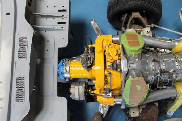 Allison t63c18 Turboshaft