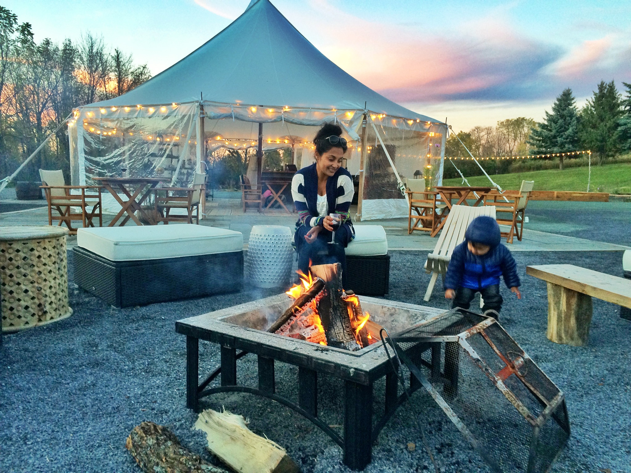 Family Travel ~ Glamping with Firelight Camps - The New York Mom