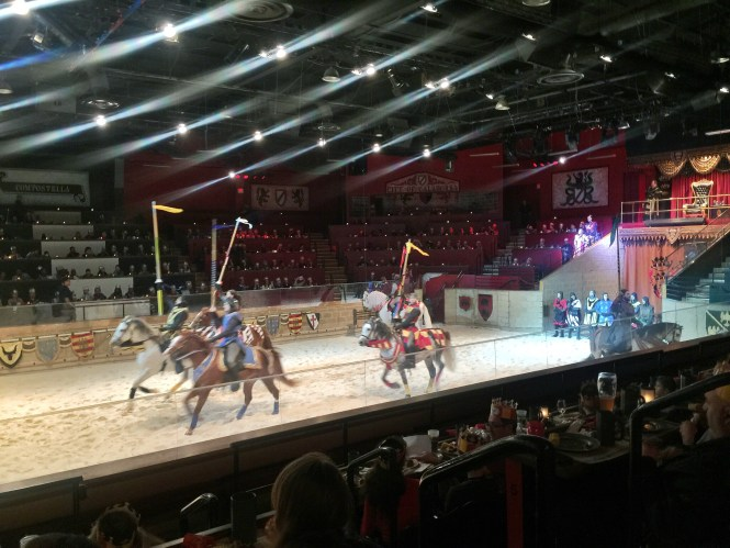 The Medieval Times Dinner and Tournament