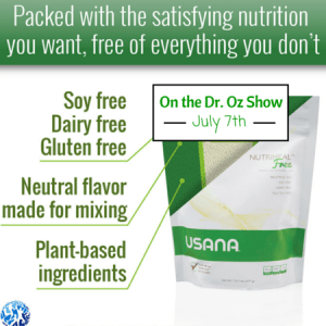 Nutrimeal Free on Dr. Oz Show
