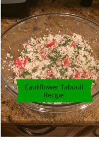 Cauliflower Tabouli