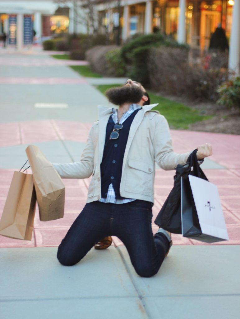 Pure shopping joy. Photo: © TNG