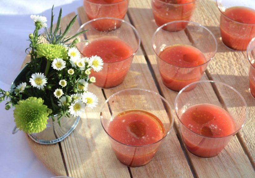 Chilled Watermelon Gazpacho from River Bar, Photo: © TNG