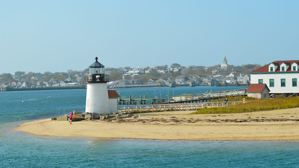 Welcome to Nantucket via Hy-Line Cruises. Photo: © TNG