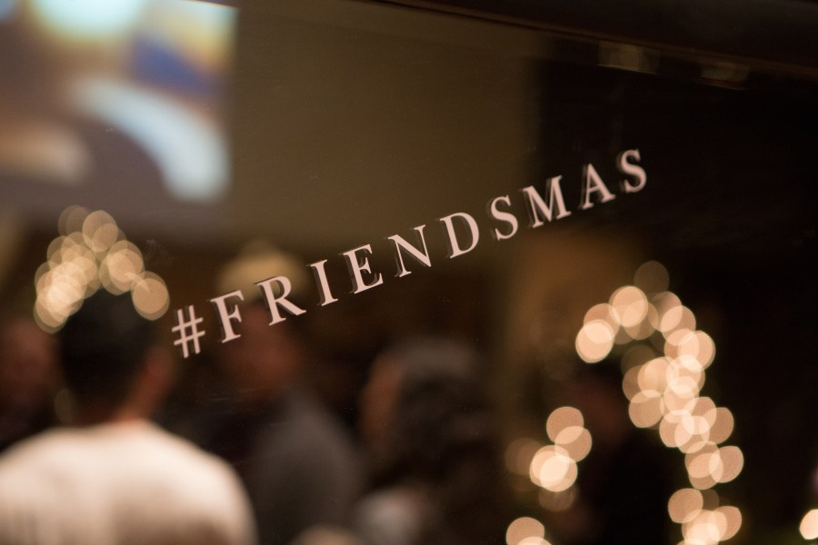 Reflecting on Friendsmas with Jack Wills, and other holiday traditions