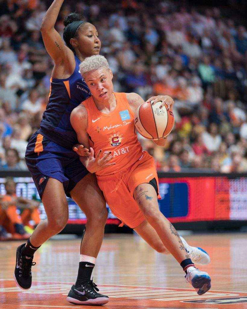 Natisha Hiedeman and Briann January did not travel with the Connecticut Sun to Florida