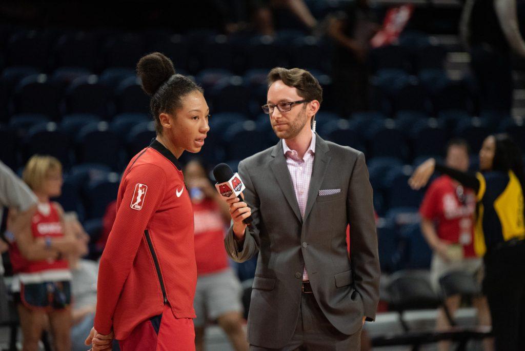 The Washington Mystics' Aerial Powers is pulling back the curtain on an unprecedented WNBA season