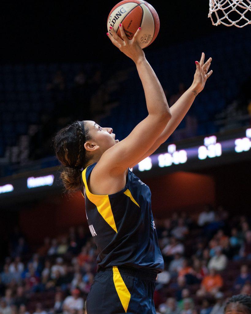 Natalie Achonwa breaks all-time Indiana Fever Natalie rebounding record