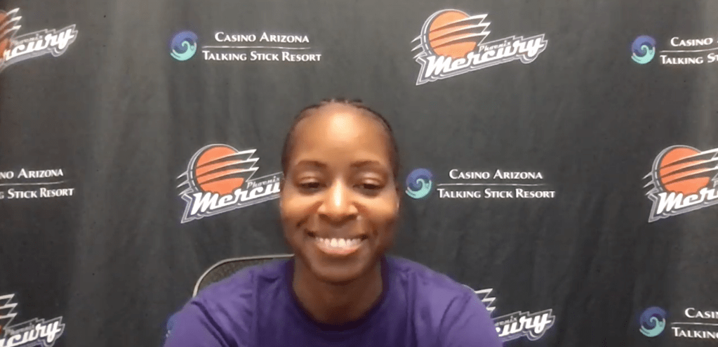Shey Peddy joins the Mercury after being cut by Washington this week