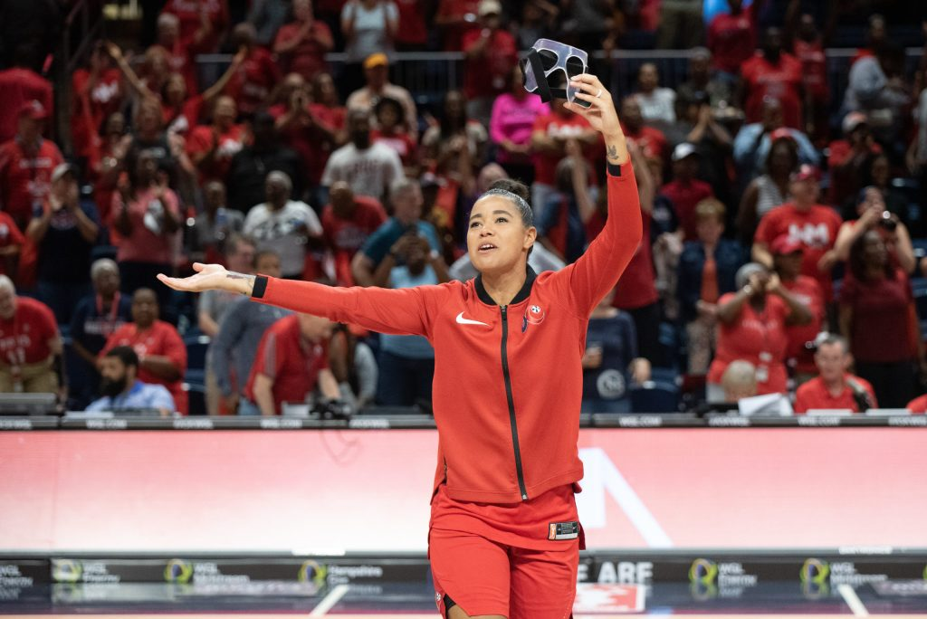 Women's basketball teams in D.C. look to boost voter turnout