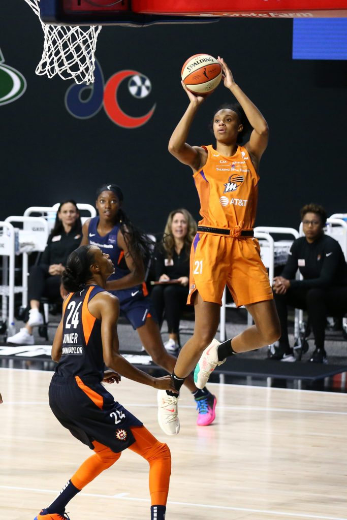 Brianna Turner holds the key to victory for the Mercury
