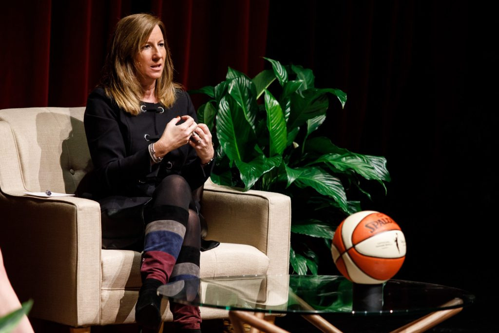"""""""Every day's a new day in COVID world"""": WNBA Commissioner Cathy Engelbert speaks to media"""