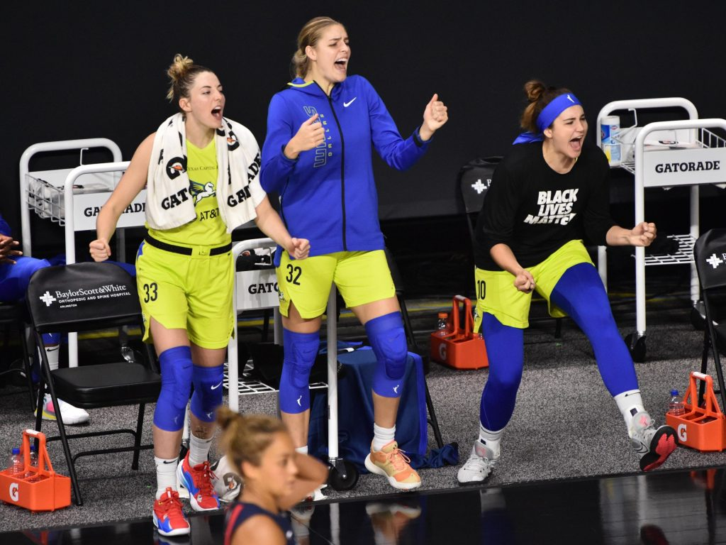 How players are balancing basketball and school in the WNBA bubble