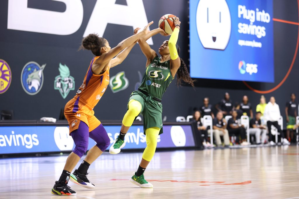 Seattle Storm continue to flex their depth ahead of playoffs