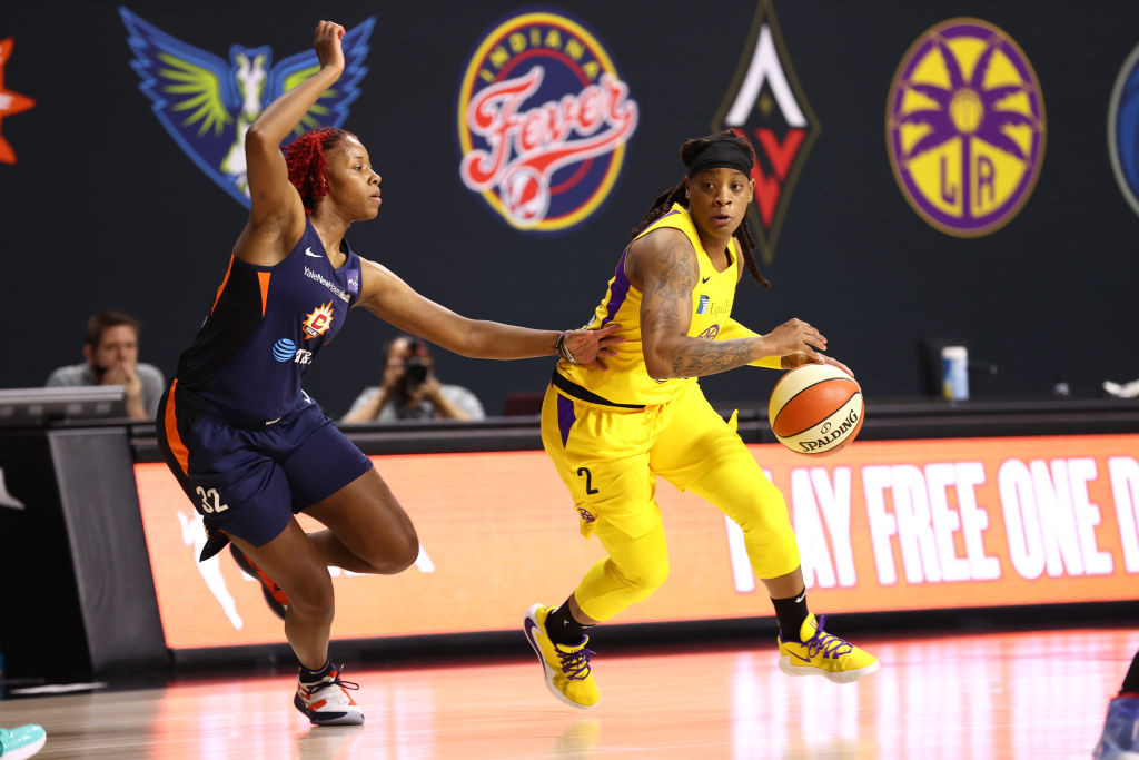 How Riquna Williams fits on the Aces
